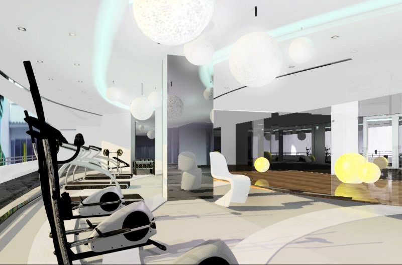 Fitness center / Chatrium Hotel