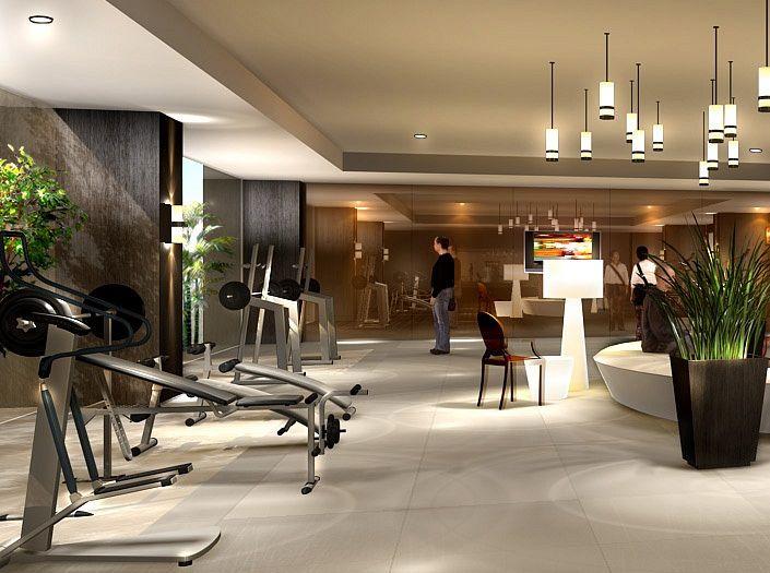 Fitness Center / Fourwings Srinakarin